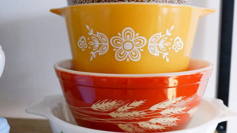 How to Rescue & Restore Thrifted Pyrex in 10 Steps